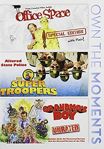 Office Space / Super Troopers / Grandma's Boy [DVD] [Region 1] [NTSC] [US Import]