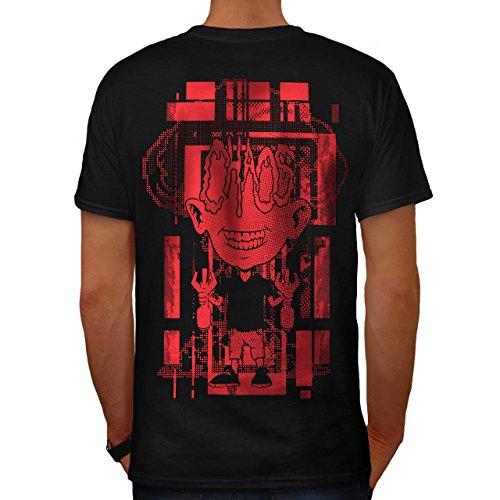 Verrückt Wissenschaftler Horror Bombe Kind Herren M T-shirt Zurück | Wellcoda