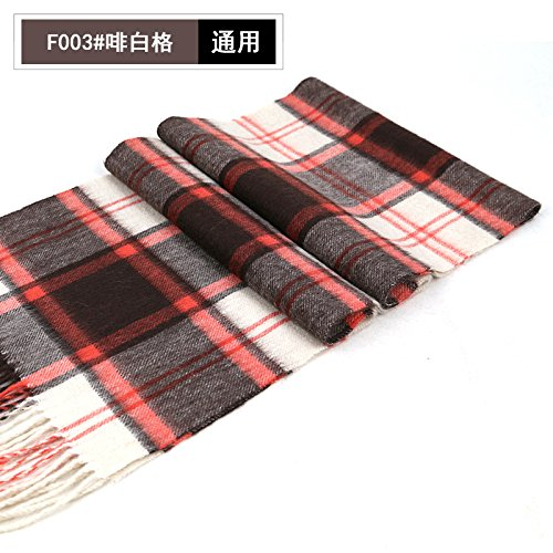 Womens Brown Importiert (RENYZ.ZKHN RENYZ.ZKHN Ladies Fashion Plaid Scarf Scarf Thick Scarf Shawl Female Warm Winter Cold Dual-Purpose 30*180Cm Scarf,Brown And White Squares)