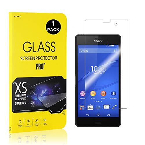 Bear Village® Sony Xperia Z3 Compact Displayschutzfolie, 9H Hart Schutzfilm aus Gehärtetem Glas, Ultra-klar Displayschutz Schutzfolie für Sony Xperia Z3 Compact, 1 Stück