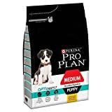 Pro Plan Dog Medium Puppy, Sensitive Digestion, Reich an Huhn, Trockenfutter Beutel