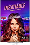 Lost poster rare poster Debby Ryan Insatiable Netflix 2018Ristampa # 'D/100. 12x 18
