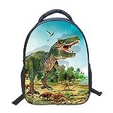 Dinosauro Borsa scuola materna Ragazzi,Bambino piccolo Stampa 3D zaino leggero Semplice zaini