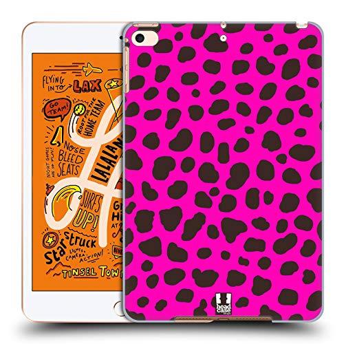Head Case Designs Gepard Rosa Verrückte Drucke 2 Harte Rueckseiten Huelle kompatibel mit iPad Mini (2019)