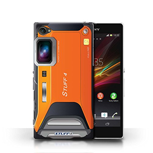 Kobalt® Imprimé Etui / Coque pour Sony Xperia Z1 Compact / Compact conception / Série Appareil Photo Sportif