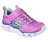 Skechers Galaxy Lichter Mädchen Trainer 33 EU Neon Pink/Multi