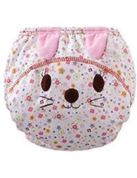Highdas Pack de 2 Pañales reutilizables cubierta infantiles para niños de las bragas de formación Calzoncillos de tela Pañales