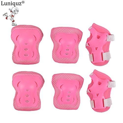 luniquz-6x-boysgirls-inline-skating-protection-gear-set-knee-elbow-wrist-palm-pads-guard-for-skating