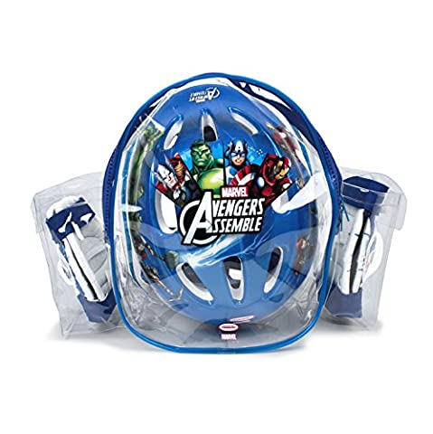 Avengers–Helmet with protections in Backpack (D