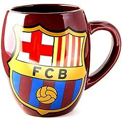 Equipo de Fútbol Oficial taza de cerámica, diseño de bote de té, Barcelona FC