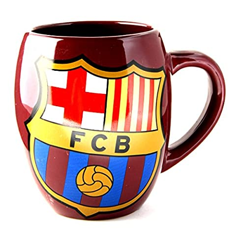 Official Football Merchandise Thé Pot en forme de tasse en céramique, Barcelona FC