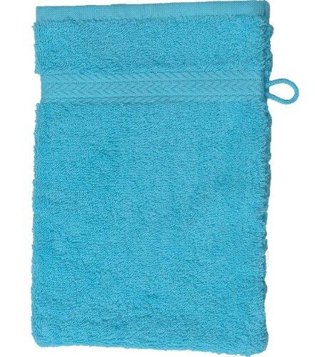 Sensei 097061.07 Luxury Gant Coton Bleu Turquoise 16 x 22 cm
