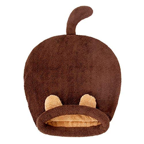 PAWZ Road Washable Cat Sleeping Bag Tent Dog Bed Snuggle Cave Cute Sack Mat for Kitten and Puppy Braun - 2
