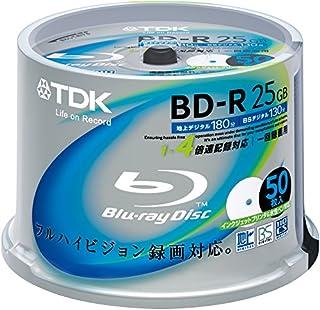 TDK Blu-ray Disc 50 Spindle - 25GB 4X BD-R - Printable (B002RT85RW) | Amazon price tracker / tracking, Amazon price history charts, Amazon price watches, Amazon price drop alerts