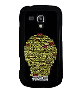 ifasho Designer Phone Back Case Cover Samsung Galaxy S Duos S7562 ( Space Man Planet China )