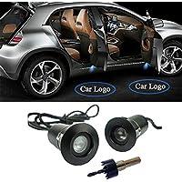 2 X Universal de coche para lámpara de proyector de LED Puerta sombra Bienvenido Luz Láser Emblema Logo Lamps,Puerta de coche LED de luz del proyector Cortesía Logo Bienvenido luces