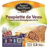 Raynal & Roquelaure Paupiette de veau sauce aux champigons et riz Barqu (Prix Par Unité) Envoi Rapide Et Soignée