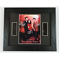 Twilight Breaking Dawn Autographed + Original Film Footage
