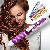 Elektrische Magic Hair Styler Spirale Lockenwickler Roller Lockenstab Haar Styling Werkzeug (Pink)