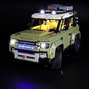 LIGHTAILING Set di Luci per (Technic Land Rover Defender) Modello da Costruire - Kit Luce LED Compatibile con Lego 42110… 0781621989522 LEGO