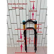 Nieve playa Aire horquilla 26 * 4.0 grasa bicicleta suspensión Cruiser spread 135 mm Interantional una