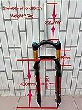 Nieve playa Aire horquilla 26* 4.0grasa bicicleta suspensión Cruiser spread 135mm Interantional una instalación estilo