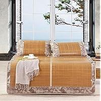 Preisvergleich für Coole Matratze Mats Sommer Doppelte Erhöhung Doppelseitige Matten 1,5m Bett Bambusmatte dreiteilig Coole Bambusmatte (größe : 150 * 199cm)