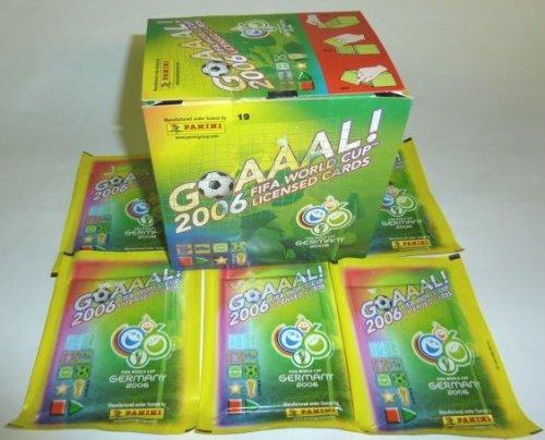 Panini WM 2006: Goaaal! Fussball-Sammelkartenspiel - Display mit 40 Booster-Pack je 6 Spieler (Karten)