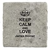 Die besten Von James Horners - Keep Calm and Love James Horner–Marble Tile Drink Bewertungen