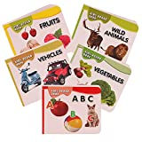 Pocket Books Alphabets, Fruits, Vegetabl...