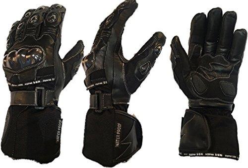 mbsmoto-gll24-guanti-protettivi-per-moto-in-tessuto-e-pelle-impermeabili-antivento-colore-nero