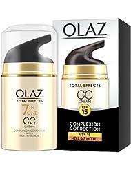 Olaz Total Effects CC Cream, hellere Hauttypen, Pumpe, 1er Pack (1 x 50 ml)
