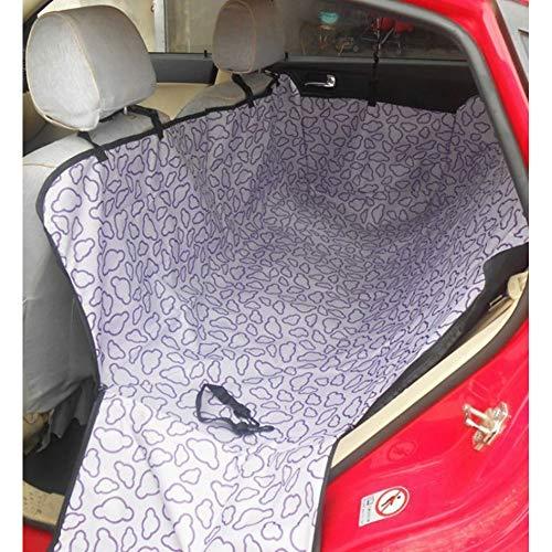 CZHCFF Hundezubehör für Autositz Rücksitz Auto Haustier Wache Autositz Träger Auto wasserdichte Hängematte Sitzmatte Autositzbezug -