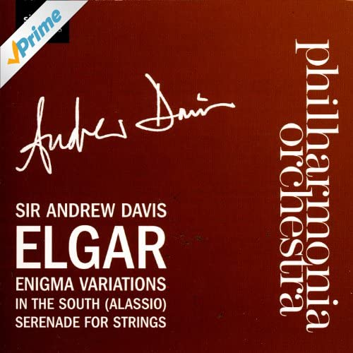 Enigma Variations, In the South, Serenade For Strings