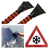 2x Premium Eiskratzer Eis-Kratzer Schneebesen Eisschaber Eisentferner Scheiben | Markenprodukt der molinoRC® | BRD