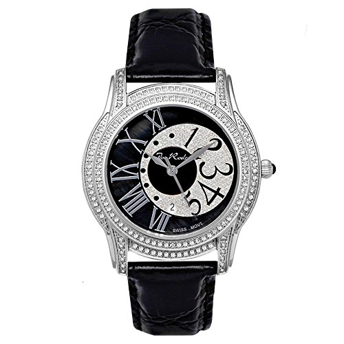 Joe Rodeo Diamante Orologio da donna - BEVERLY argento 1,35 CTW