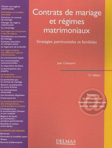 contrats-de-mariage-et-rgimes-matrimoniaux-stratgies-patrimoniales-et-familiales