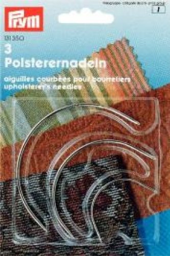 Prym 131350 - Agujas curvadas tapizar 3 Unidades