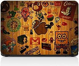 GrapeApeTM 3M Vinyl Hipster Sticker Collage Laptop Skin