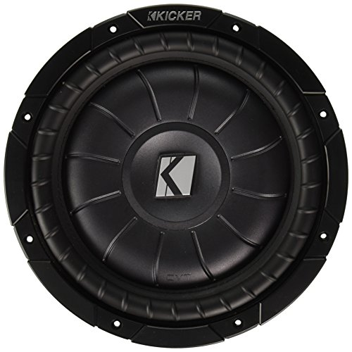 KICKER 43CVT104 10 Zoll Comp-VT Woofer Schwarz Compvt Car-audio-subwoofer