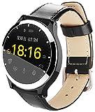 TNUGF Montre Connectée Bracelet Smartwatch Sport Podomètre Femme Homme Étanche IP67, Compteur de Calories, Moniteur de Sommeil, Appel des Hommes pour iOS Android Phone