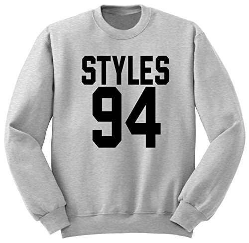 Harry Styles 94 Unisex Sweat-Shirt Pullover SW78 Gris