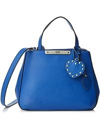 Guess Damen Britta Shopper, Blau (DenimDen), 28.5x22.5x12