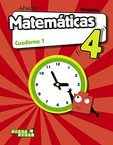 Matemáticas 4. Cuaderno 1. (Pieza a Pieza)