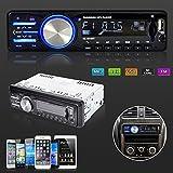 Bedee Autoradio KFZ Bluetooth Audio Empfänger MP3 Player mit Freisprecheinrichtung für iPhone / iPad / iPod / Smartphone, Unterstützung USB/AUX Anschluss SD Karten ISO Anschlußkabel 1 DIN schwarz - 4