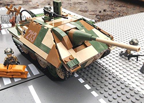✠ Modbrix 3001 – Bausteine Panzer Jagdpanzer 38 Hetzer inkl. custom Wehrmacht Soldaten aus original Lego© Teilen ✠ - 2
