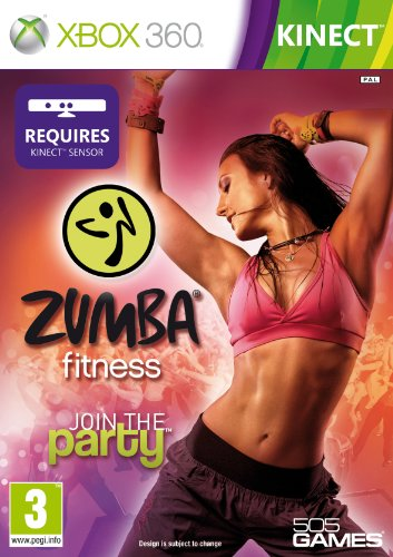 Kinect Zumba Fitness Game XBOX 360 [UK-Import] (Kinect Zumba Für)