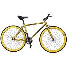 Wizard Industry Helliot Soho 5305 - Bicicleta Fixie, Cuadro de Acero, Frenos V-