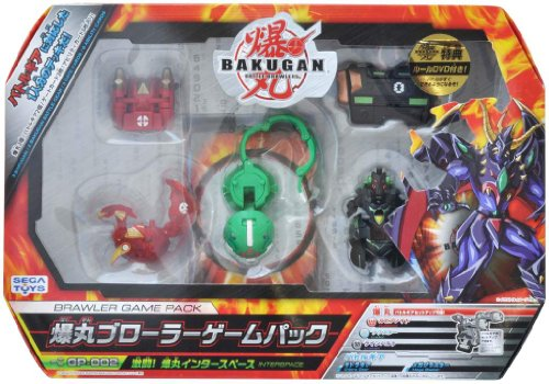 BAKUGAN GP-002 Brawler Game Pack Battle! Bakugan Inter space Set