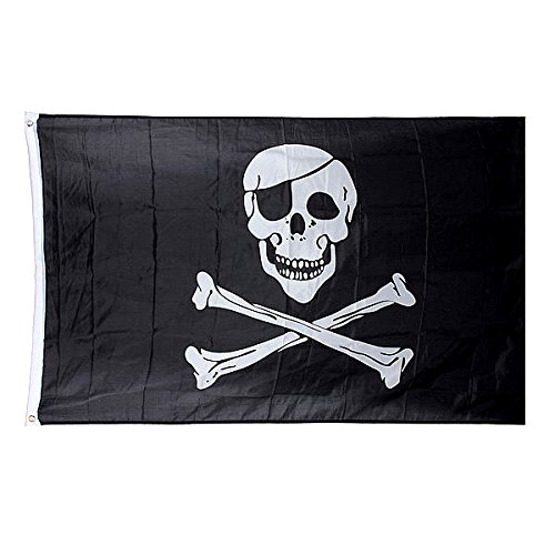 5 * 3 ft. Jolly Roger Skull Pirate Flag